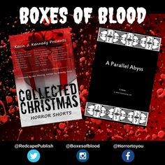 Hand-picked horror, delivered to your door. Featuring the best independent and small-press horror writers working today. Horror Books, Work Today, Writers, Blood, Boxes, Fir Tree, Crates, Box, Authors