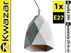 PROMOCJA Lampa wisząca DEKOR cement E27 HANG19 B