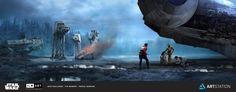 ILM Art Department Challenge: The Moment, PAZQAL (Pascal Degrune) on ArtStation…