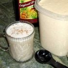Hot Buttered Rum Mix - 1 3/4 cup unsalted butter, softened  8oz package confectioners' sugar, sifted  1/2 pound light brown sugar, packed  1 quart vanilla ice cream, softened add nutmeg, cinnamon and cloves  - freeze into cubes, place in ziplock & store up to 1 mo. - Add 1 to 2 tablespoons dark rum. Pour over the mix 6 ounces of boiling water and stir until the mixture is melted.