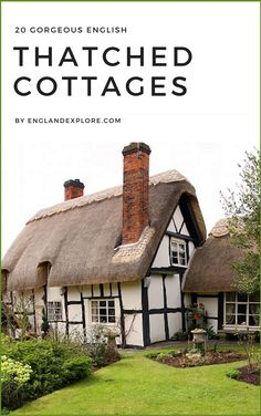 20+Gorgeous+English+Thatched+Cottages