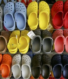99d3e501fe5c4 The ugly shoe is becoming a fashion statement. Totally loving this trend