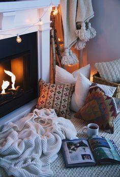Inspiration: 10 idées déco cocooning | Les idées de ma maison ©lindsaymarcella.com #cocooning #hiver #confort