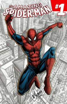 #Spiderman #Fan #Art. (Spiderman Cover) By: WillNoName. ÅWESOMENESS!!!™ ÅÅÅ+