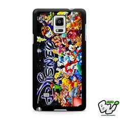 All Disney Samsung Galaxy Note 4 Case