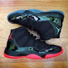 Gamma Blue 11's & Dirty Bred 11's