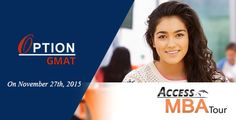 On November 27th, 2015, Option Training Institute, Dubai will be part of the Access MBA Tour to open up for its students an opportunity for face-to-face interaction with admission directors of the best schools from round the world. #OptionGMATDubai #OptionTrainingInstitute #AccessMBA