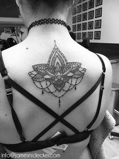 Insanely Deep and Positive lotus mandala Tattoo Arts (51)