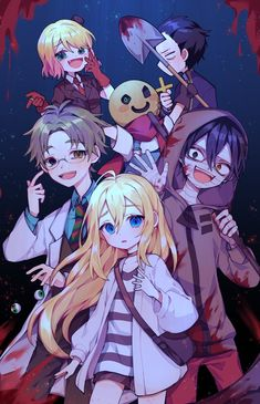 Ahah Angel of Death - Various Anime - - anime&manga - Anime Anime Chibi, Manga Anime, Film Manga, Fanarts Anime, Anime Characters, Otaku Anime, Anime Angel, Angel Of Death, I Love Anime
