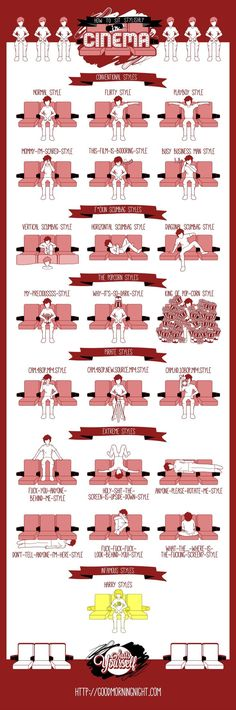 How To Sit Stylishly In Cinema?