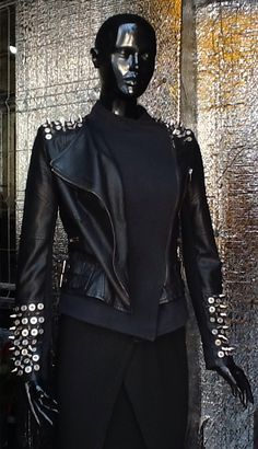Magazin Online Haine by Stefan Musca Leather Jackets, Leather Pants, Style, Fashion, Swag, Moda, Fashion Styles, Leather Joggers, Leather Jacket