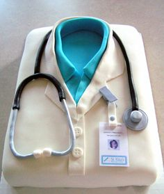 Female Doctors Coat Shirt This Is A Cake For My SIL She Just Finished Her Last Day As Resident And Will Soon Start Job