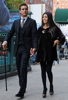 Love Kourtney's Black Velvet Dress.