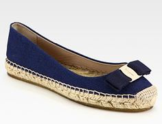 Ferragamo Blake Espadrille. I actually have never liked espadrilles, but my love for this shoe has overcome it.