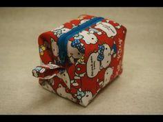 清秀佳人布坊 - 手作教學 - 有裡布的立體拉鍊袋 - YouTube
