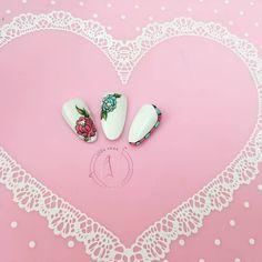 😊Diseños con estilo 🤩  Dale ❤️ Comenta 📩 Comparte ➡️ Etiqueta 🔖  #sweetbloom #paintingel #designgel #flores #relieve #gel #trazos #uñas💅… Vegas Nails, Bloom, Sweet, Instagram, Design, Fingernail Designs, Flowers, Style, Candy