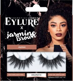 1f53c4bd3e4 Eylure X Jasmine Brown Jaybee is a gorgeously full dramatic lash that fans  out at the