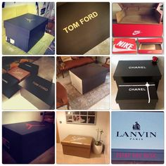 Personalized Shoe Boxes
