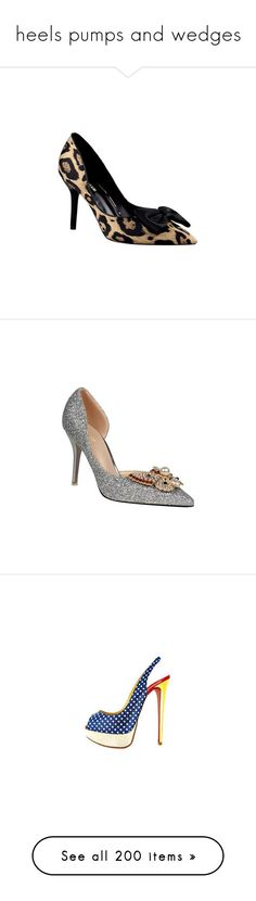 """""""heels pumps and wedges"""" by susans-sg ❤ liked on Polyvore featuring shoes, pumps, stiletto pumps, stiletto high heel shoes, leopard pumps, stiletto heel pumps, leopard print pumps, sequined shoes, butterfly pumps and sequin pumps"""