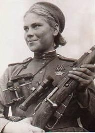Cant forget about the Female Soviet snipers of ww2...sorry, im a big Mosin Nagant