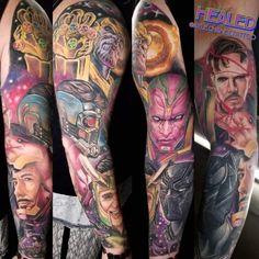 Best Arm Sleeve Tattoos | Holy Water World Famous Tattoo Ink, Famous Tattoos, Tattoo Expo, Tattoo Shows, Realistic Tattoo Artists, Live Tattoo, Cool Shoulder Tattoos, Unusual Tattoo, Arm Sleeve Tattoos