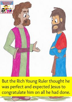 coloring pages rich young ruler - photo#32
