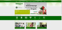 UNIMED Guarujá - Desenvolvimento de site e CMS
