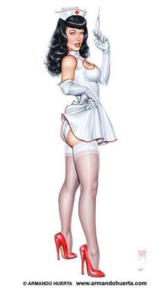 Image result for pin up nurse tattoos