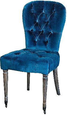 Стул Roomers Фингал XL4100-OAK/V061 Синий