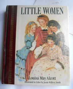Vintage Little Women Louisa May Alcott Antique Book illustrated Jessie Willcox Smith story Classic storybook Victorian Country Collectibles #Vintage #LittleWomen #LouisaMayAlcott #Antique #Book #illustrated #JessieWillcoxSmith story #Classic #storybook Victorian #Country #Collectibles #etsy #collectables