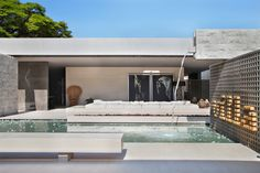 Villa Deca in Sao Paolo, Brazil | strong past influences and contemporary references | raw materials | designed by Studio Guilherme Torres #architecture #interior_design #ek_magazine