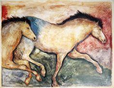 Primal Skin Crossing II Art Print by Carol Grigg at Art.com