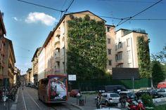 Un muro in rovina, residuo della guerra, è diventato a Milano uno splendido giardino verticale. Il Muro Verde Enel è nato in un edificio di Porta Ticinese
