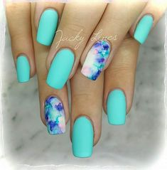 Trendy Matte Nail Designs That Fit Every Woman's Taste Look like a glamour queen this festive season with stylish nails. Try our sassy matte nail designs here for a bubbly, perky and bold look. Spring Nail Art, Nail Designs Spring, Spring Nails, Autumn Nails, Best Acrylic Nails, Summer Acrylic Nails, White Summer Nails, Marble Nail Designs, Nail Art Designs