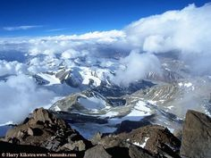 Aconcagua: View from the summit