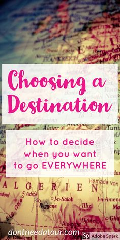 Here's a few tips to help you make a decision that you may not have thought of before.