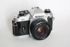 Nikon FG + Nikon Series E 50mm f/1.8   by res2000