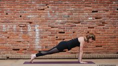 Perfect Plank Pose to Improve Posture, Build Muscle for Advanced Poses
