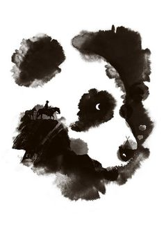 Discovery Panda Mountains Wildlife by yeohghstudio on Etsy