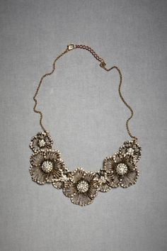 maybe a bit much...but if i wore a necklace this large, earrings would have to be small