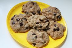 Healthy Whole Wheat Chocolate Chip Cookies. Vegan. No white flour, no sugar. (Scroll to bottom for recipe.)
