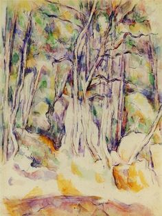 Paul Cézanne. The Park of the Chateau Noir with Well