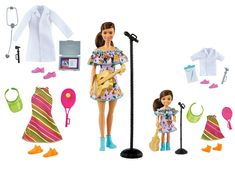 Barbie Club, Barbie Doll Set, Barbie Sets, Doll Clothes Barbie, Barbie Stuff, Barbie Chelsea Doll, Doctor Coat, Comfortable Work Shoes, Barbie Playsets