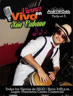 Pensando en Ti, regresaron los Viernes en Vivo este mes SON CUBANO, con el grupo LA HABANERA. ¡ Te esperamos !