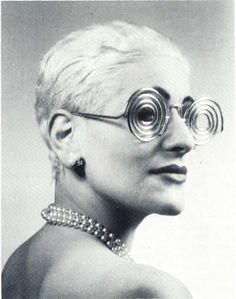 Schiap glasses inspired by Man Ray 1951