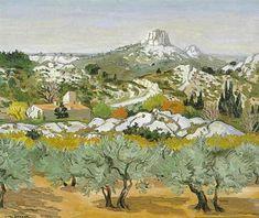 Oliviers dans la vallée des Chevriers by Yves Brayer