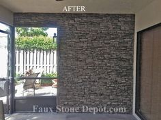 Faux Stone Panels - traditional - retainer walls - miami - Faux Stone Depot