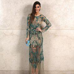 Blogger Camila Figueiredo Coelho. Vestido Fabiana Milazzo