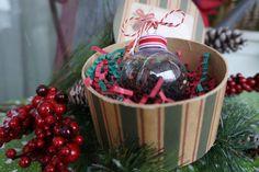 Festive Ornament Pre-filled With Santa's Secret Loose Leaf Tea by OneMoreChapter on Etsy https://www.etsy.com/listing/212392570/festive-ornament-pre-filled-with-santas
