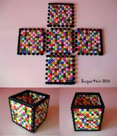 hama bead box